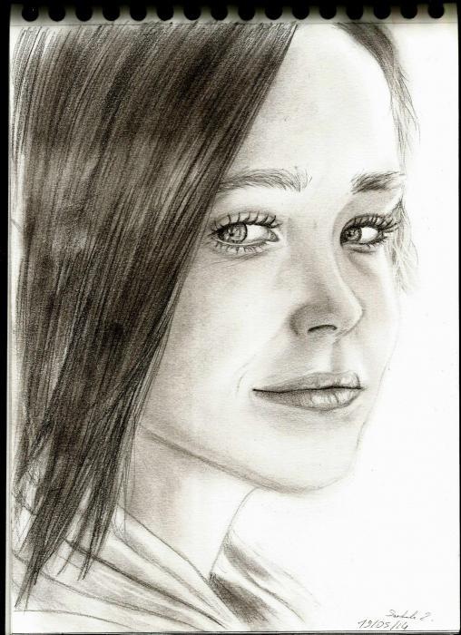 Ellen Page by NierLee